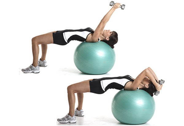 Excersie-BAll-Triceps-Workouts