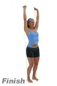exercise band tricep workouts