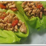 low calorie chicken lettuce wraps