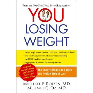 Dr. Oz You Losing Weight Book Save
