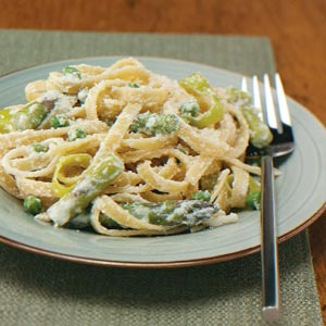 low calorie asparagus fettuccine recipes