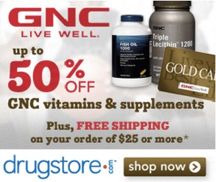Save 50% on Supplements