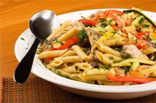 low calorie healthy penne chicken marengo recipe