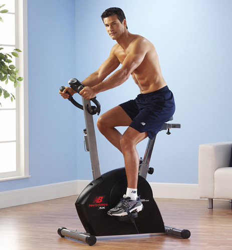Save on the exercise bike