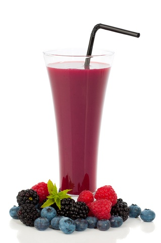 weight-loss-mixed-berry-smoothie