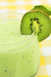 Kiwi Avocado Smoothie - Belly Fattening