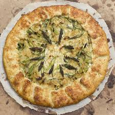 Asparagus Potato Spinach Galette Recipe