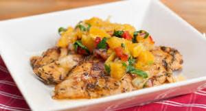 Chicken with Orange Relish