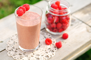 Raspberry Swirl Smoothie